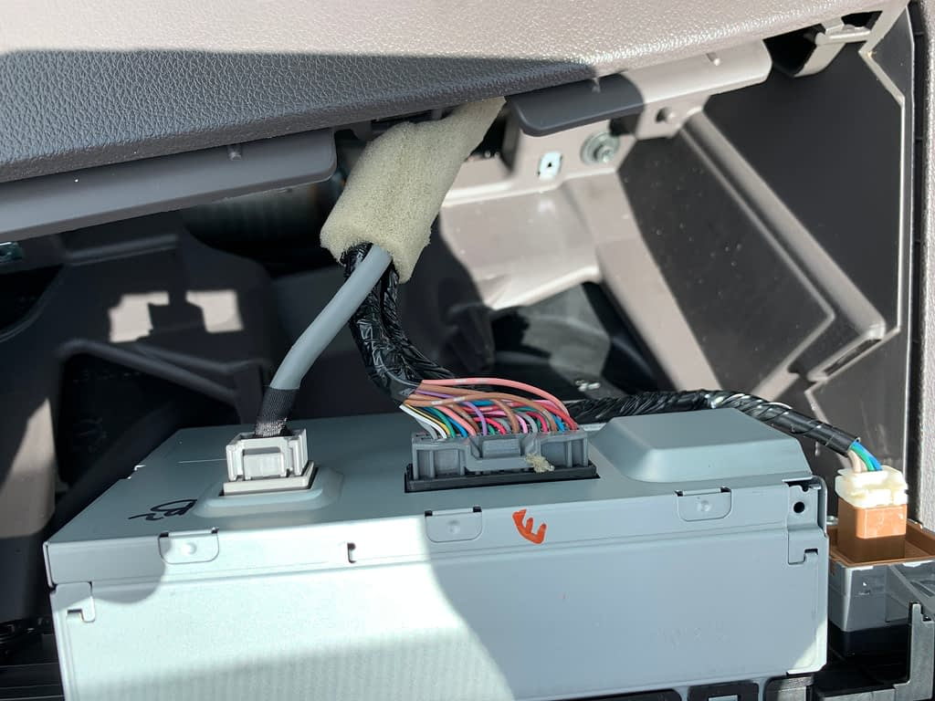 Install Sony XAV-AX5000 for 2013 Honda CR-V EX-L (No Navigation version)插图24