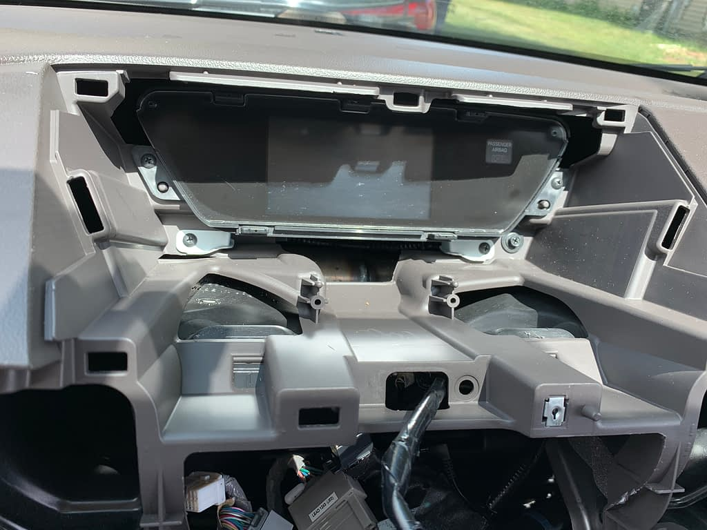 Install Sony XAV-AX5000 for 2013 Honda CR-V EX-L (No Navigation version)插图23